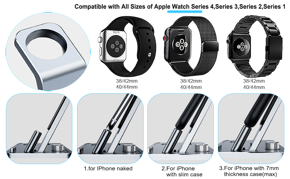 Amazon Com Yofew Charging Stand For Apple Watch Charger