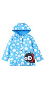 dot raincoat