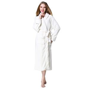VERNASSA Unisex Terry Cloth Robe Hotel Spa Bathrobe Kimono Robes at ... be5db6798