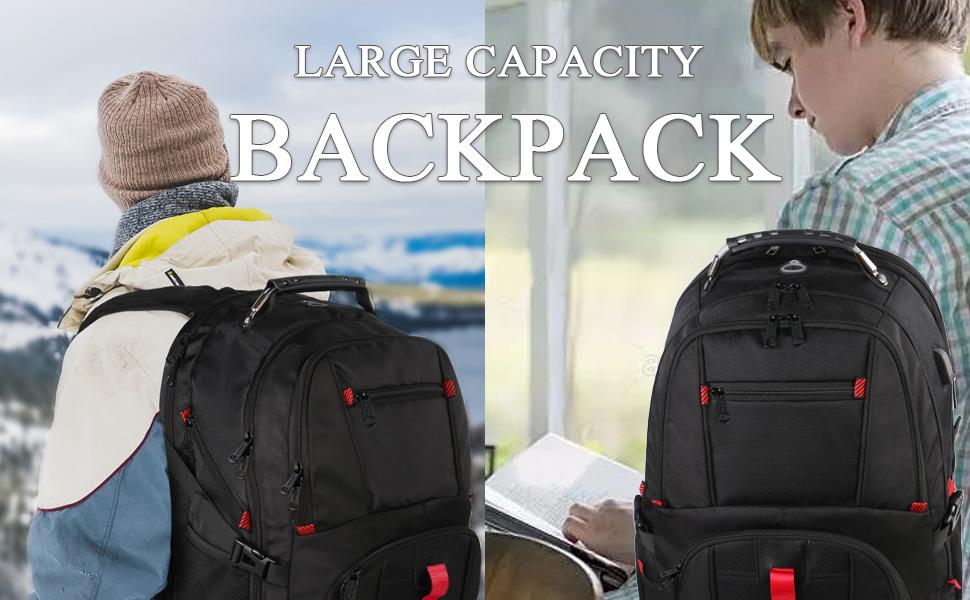 Travel Computer Backpack Big Business College School Bookbag