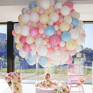 Color:Pastel Color Balloons Pastel Colored Balloons