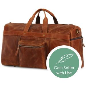 Multiple zippered pockets and spacious compartments to fit clothes, devices, shoes& more.