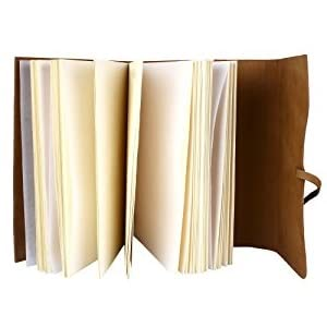 leather photo album soft cover Family Album Cover handmade Holds 3X5, 4X6, 5X7, 6X8 8X10 Brown