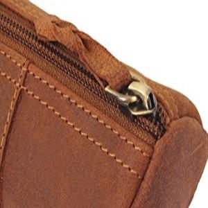 handmade vintage leather handcrafted pen pencil pouch holder case men women kids artist gift