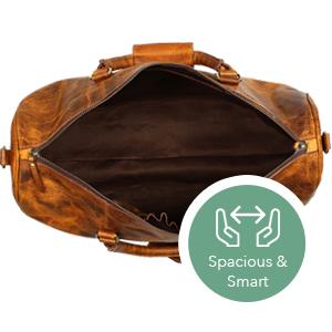 bag leather women men duffel travel weekender sports luggage airplanes  carry-on gym heavy weekend 3c3edbecb2