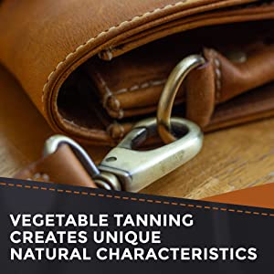 vegetable tanned