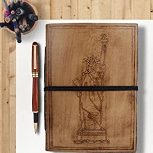 notebook journals vintage writing travel genuine college diary leather men women gifts sketching