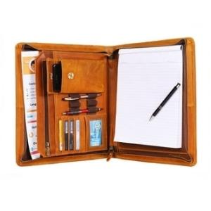 Professional Padfolio Resume Portfolio Business Portfolio Document Storage Genuine Leather
