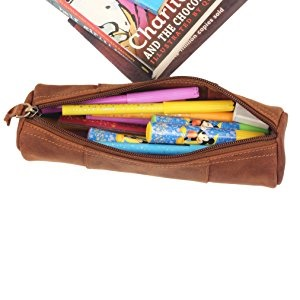 pencil case filled with sketch pens