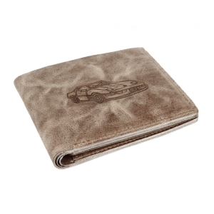 Mens Genuine Leather RFID Blocking Vintage Slim Bifold Wallet Handmade ID Window Stylish