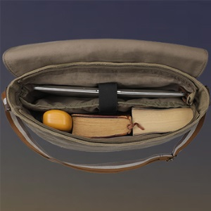 Canvas Messenger Bag Shoulder Bag Laptop Computer Satchel Bookbag School Working Crossbody Men Women