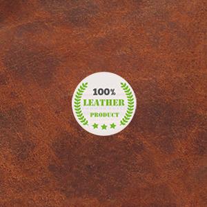 Genuine Leather Cosmetic Bag Shaving Grooming Dopp Kit Portable Handle