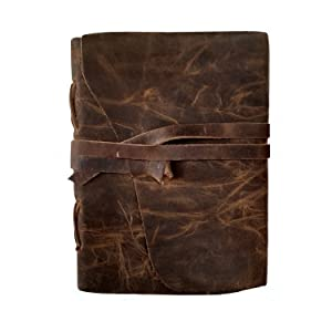 leather journal notebook photo album