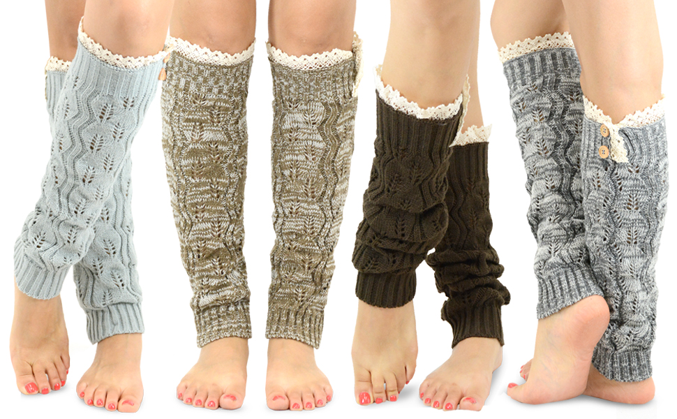 Warmer Damen Flip Short Leg CoverYE