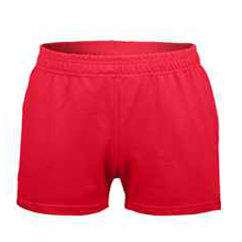 3 inseam shorts red