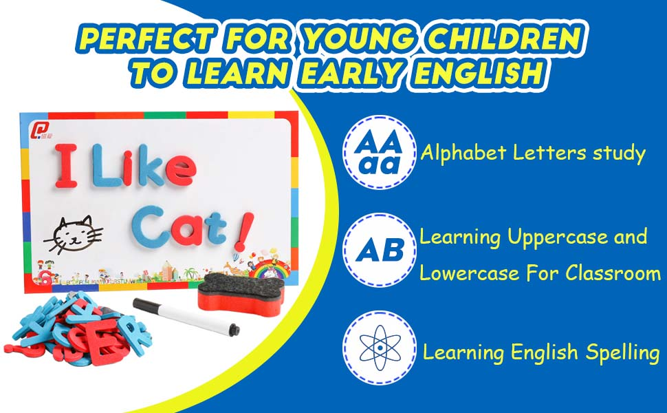 Alphabet Letters for Kids Spelling and Learning-Early Education ...