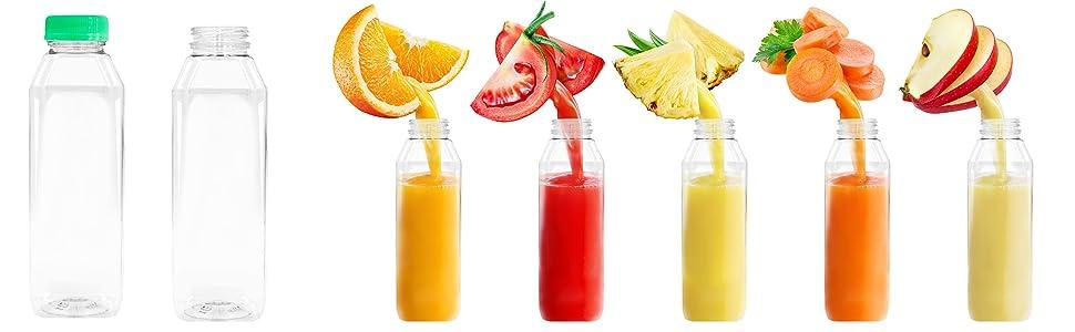 plastic bottles 12 oz plastic bottles empty juice bottles