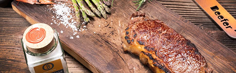 Perfect Steak seared with the 1,500 Degrees Premium Grill The Beefer