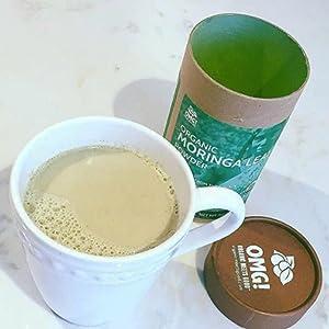 Moringa Latte