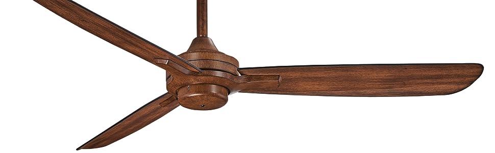 Minka-Aire, F727-DK, Distressed Koa, Brown, Ceiling Fan, LIving Room Fan, Bedroom Ceiling Fan