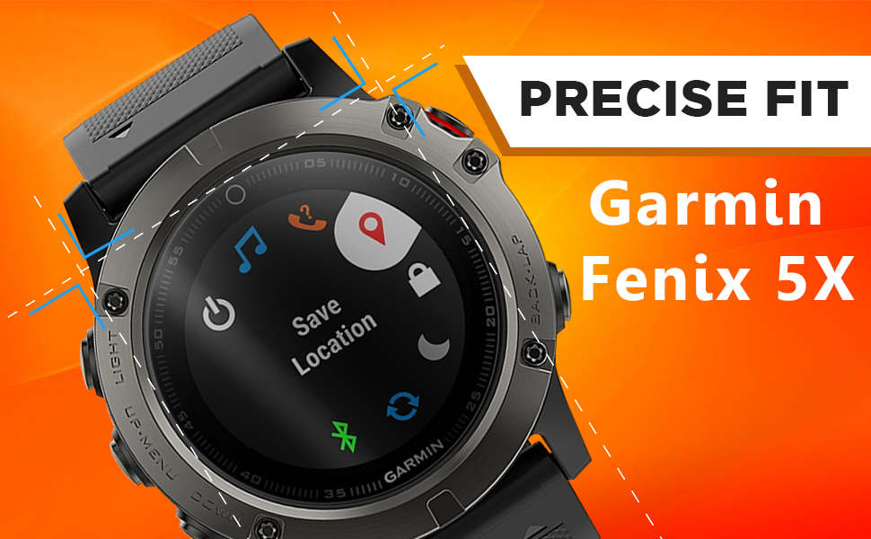 4-Pack Pulen for Garmin D2 Delta PX Screen Protector Tempered Glass,Scratch Resistance No Bubble Anti-Fingerprint 9H Hardness Tempered Glass for Garmin D2 Delta PX//Garmin vivoactive 3