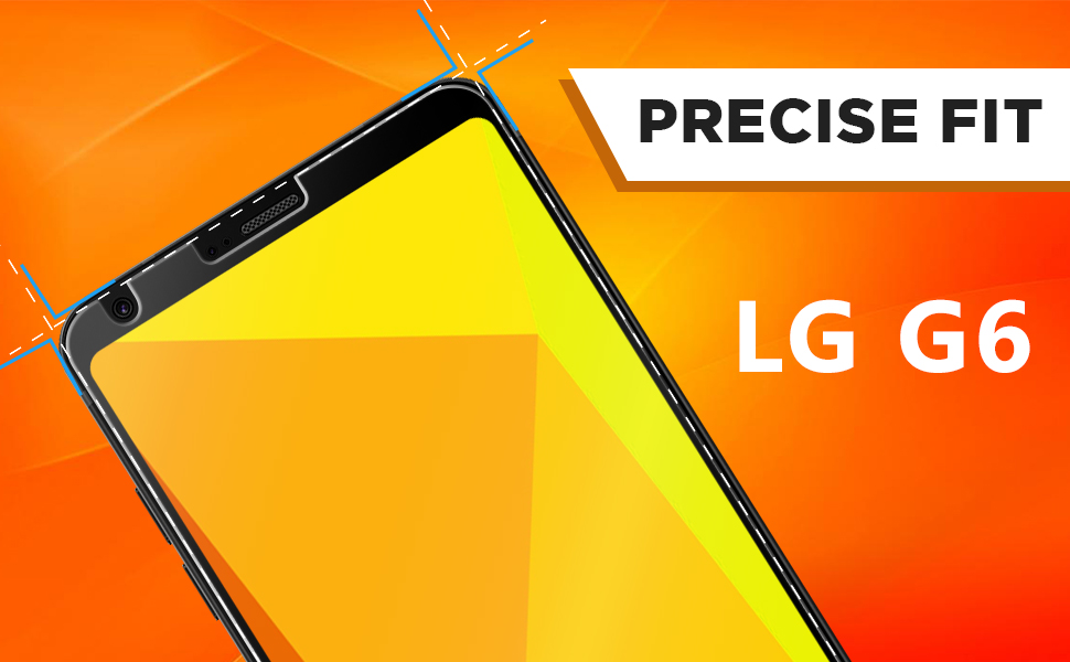 LG G6 Screen Protector, Skinomi TechSkin Full Coverage Screen Protector for  LG G6 Clear HD Anti-Bubble Film