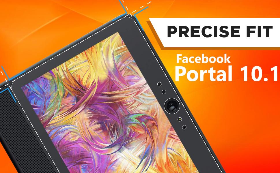 Skinomi TechSkin Clear Film Screen Protector for Facebook Portal Plus