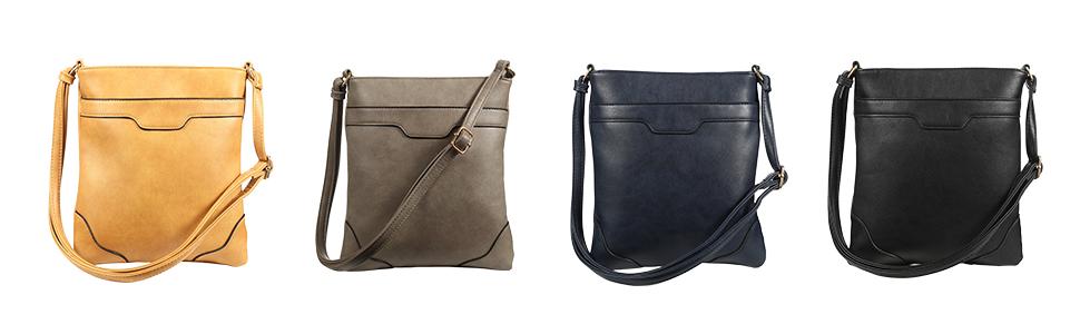 2ed0dd6be3 Multi Pocket Crossbody Bags for Women Crossover Bag Functional ...