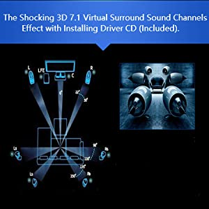 The Shocking 3D 7.1 Virtual Surround Sound