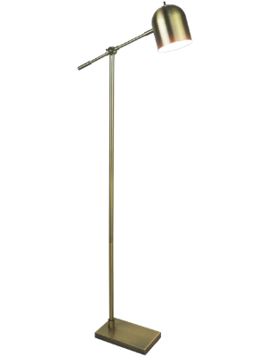 Mid Century Reading Floor Lamp By Light Accents Adjustable