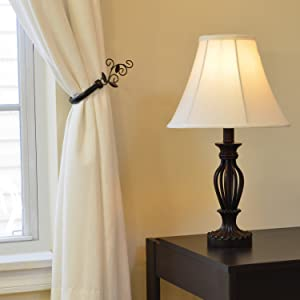 Light Accents, Table Lamp 18.5 Inches Height, Traditional Iron ...
