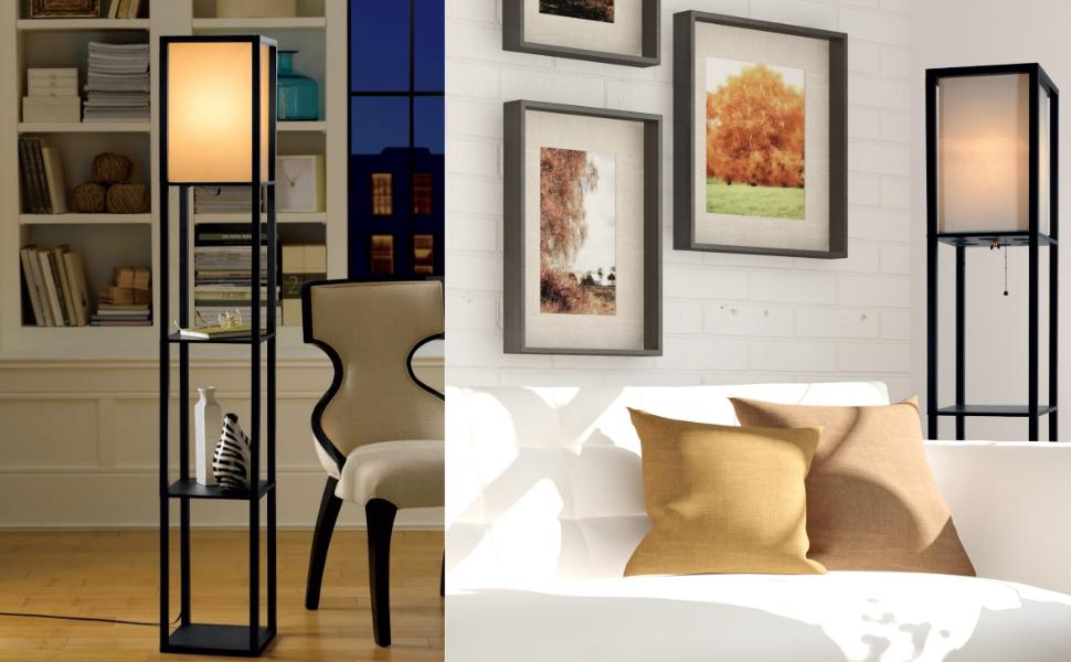 shelf lamp shelf floor lamp floor lamp with shelves narrow nightstand floor shelf bookshelf lamp