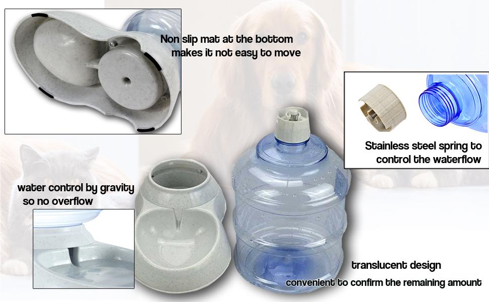 self dispensing gravity waterer