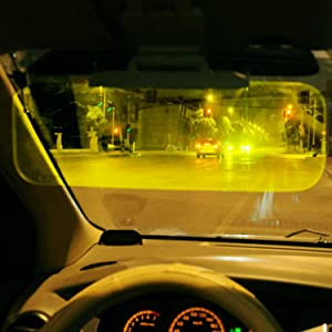 The visor relieves eye fatigue and effectively protects the safety of  driving under the strong light during night. 930e303aeca