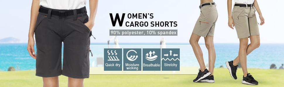 Amazon.com: MIER - Pantalones cortos para mujer ligeros de ...