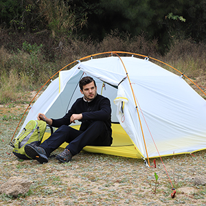 Lightweight and Quality material? & Amazon.com : MIER 2 Person Outdoor Camping Tent 3 u0026 4 Season ...