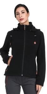 z 02 women hooded fleece