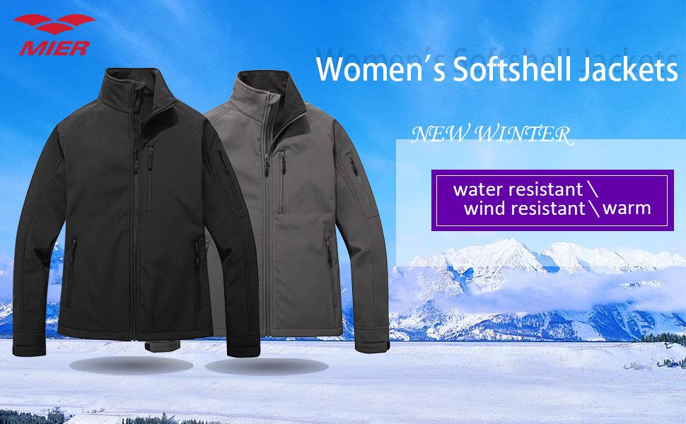 Amazon.com: MIER para mujer (tejido Softshell al aire última ...