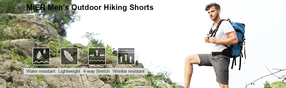 men's outdoor hiking shorts