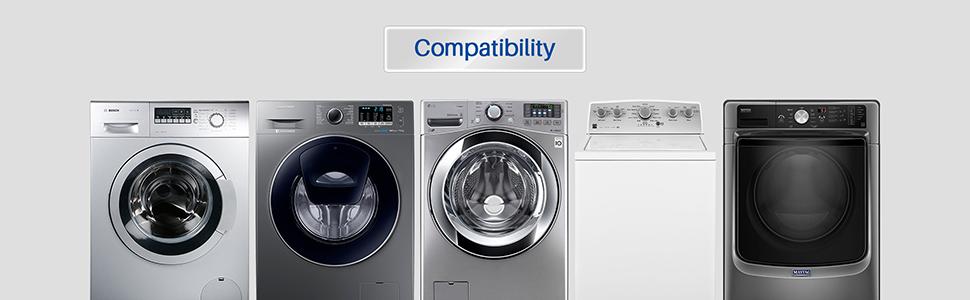 K&J washing machine hose compatibility