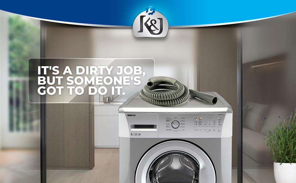 washing machine drain hose by K&J