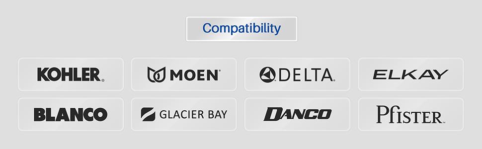 sink plug compatibility