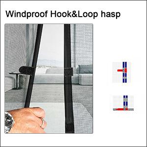 UNIQUE HOOK&LOOP STICKER HASP DESIGN