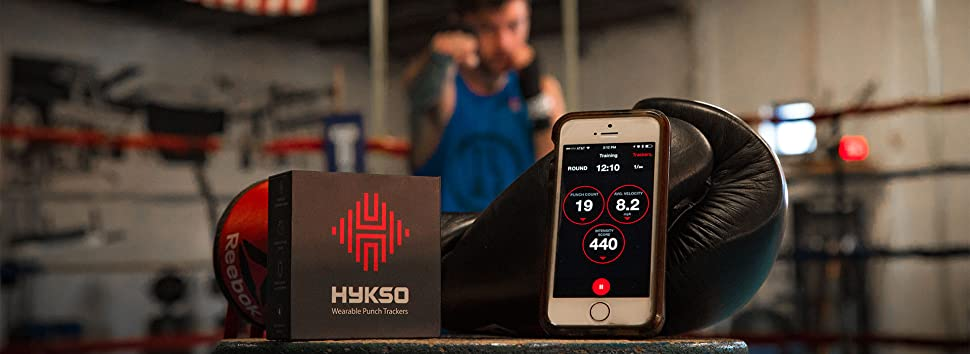 Sporting Hykso Wearable Punch Tracker Boxing, Martial Arts & Mma