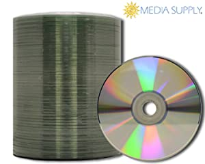 picture relating to Printable Blank Cds identify MediaPro Blank CD - Educated Quality Silver Thermal Lacquer CD-R - 100 Pack