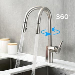 kitchen faucet touch