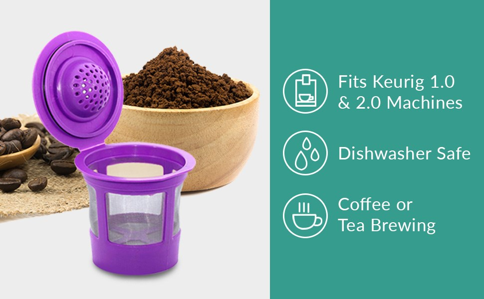 keurig kcup dishwasher safe for coffee or tea