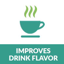 improves drink favor taste purehq