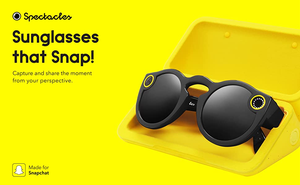 3c4ff2feb57 Snapchat Snap Spectacles Camera Glasses Take snaps with your glasses ...