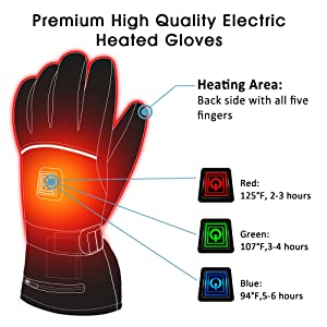 heated glove